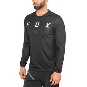 Fox Indicator Mash Camo maglietta a maniche lunghe Uomo nero